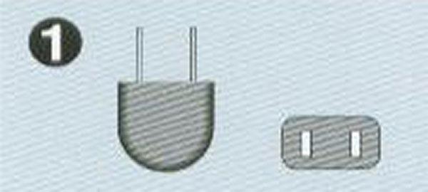 100-120V A-2プラグ 平ピン